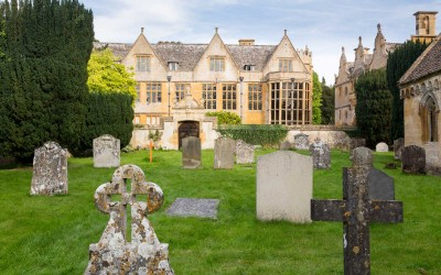 Stanway-House in the Cotswolds