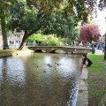 Bourton-on-the-Water in the Cotswolds