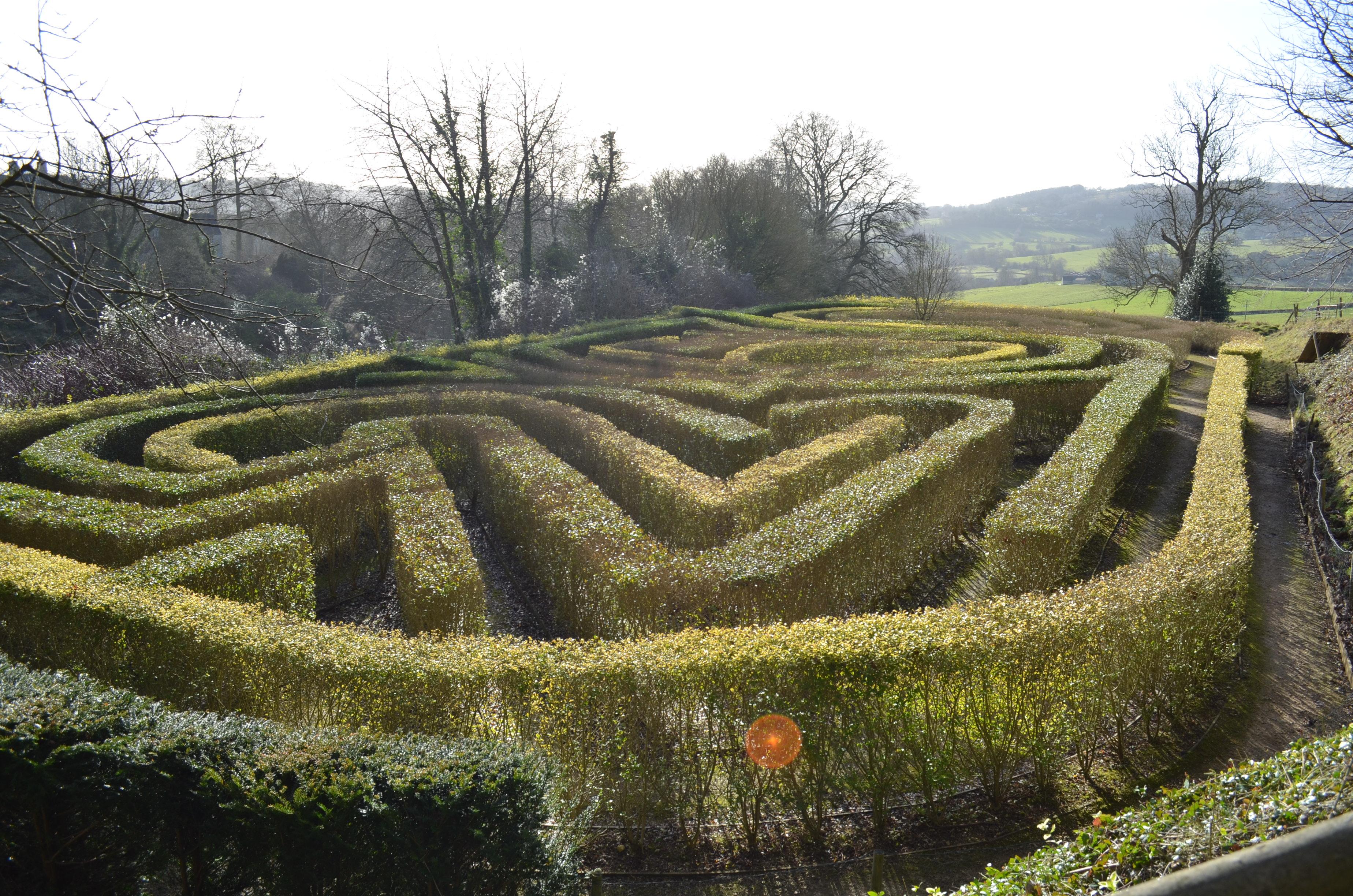 Maze at Painswick Rococo Garden